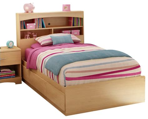 kids storage bedroom sets south shore shiloh kids twin bookcase storage bed set in