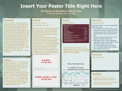 Powerpoint Poster Template 36 X 48 Choice Image Powerpoint Template And Layout Poster Presentation Template 36 X 48