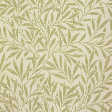Home Interiors Wall Decor by Willow Wallpaper Olive 210383 William Morris Amp Co