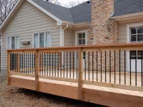 exterior balusters and handrails exterior cedar deck railing deck handrail composite