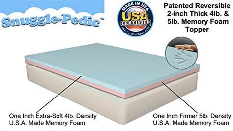 size snuggle pedic patented layer 4lb 5lb