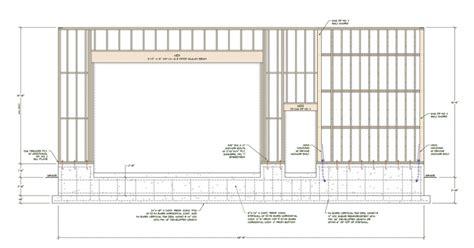 Garage Door Framing Dimensions by 2017 Outstanding Craftsman Garage Door Header Size Parts
