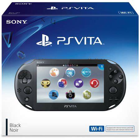 console ps vita sony playstation vita handheld console black