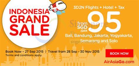 airasia grand serela bandung air asia go indonesia fr 95 pax 3d2n flights hotel