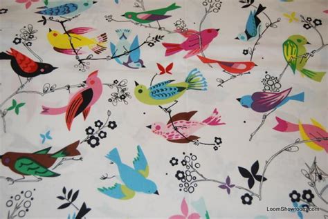 Bird Quilting Fabric by T111 Vintage Bird June Song Quilt Fabric Cotton Fabric