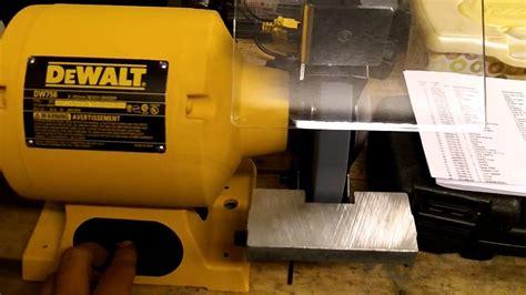dewalt dw756 6 inch bench grinder dewalt dw756 bench grinder echo cs3450 chainsaw youtube