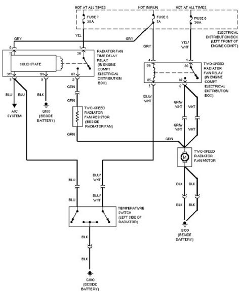 radiator fan switch wiring diagram 34 wiring diagram