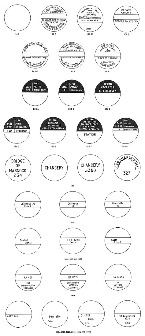 telephone labels template gpo labels