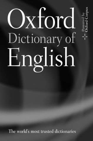 Oxford Dictionary of English by Angus Stevenson