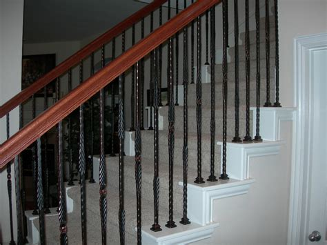 iron banisters wrought iron baluster stair spindles check out wood