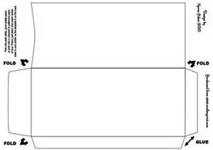 double diamond fold envelope template cup145552 168