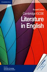 cambridge igcse literature in 0521136105 cambridge igcse literature in english ebook by russell carey 9781139547505