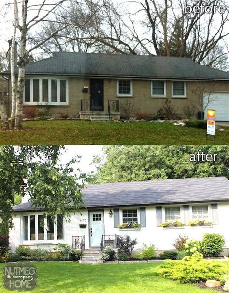 small home renovations 8 small homes get huge facelifts ranch house and curb