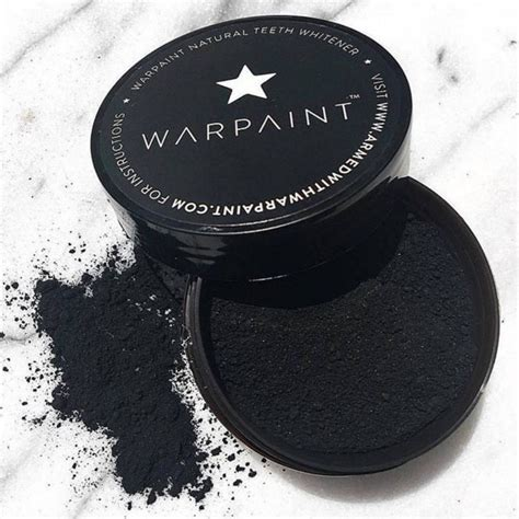 charcoal teeth whitener  warpaint nourished life australia