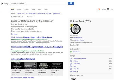 bing starts showing full song lyrics right in search results song lyrics hit the serps analyzing google bing traffic