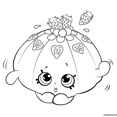 cute vegetable coloring pages cute fruit jello shopkin season 5 coloring page free