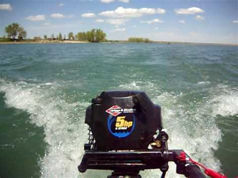briggs and stratton boat motor reviews briggs and stratton 5hp outboard air cooled funnycat tv
