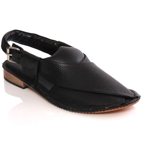 Handmade Sandals Uk - unze mens sandler handmade leather flat peshawari sandals