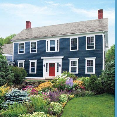 blue house white trim wow super pretty but would it work with a white house
