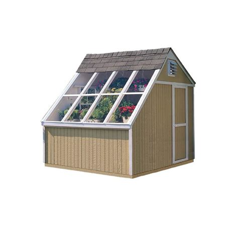 diy shed kit home depot handy home products phoenix 10 ft x 8 ft solar shed with