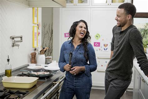 Ayeshas Kitchen by Ayesha Curry Celebrates Family Friends And Food In New