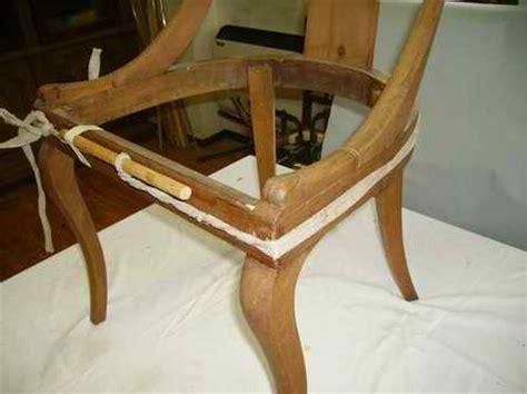 restauro sedie imbottite restauro di una sedia