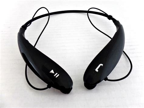 Headset Bluetooth Lg Hbs 800 lg tone ultra hbs 800 headphones jbl sound wireless bluetooth headset black ebay