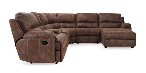 sectional reclining yellowstone sectional reclining rooms frontroom furnishings