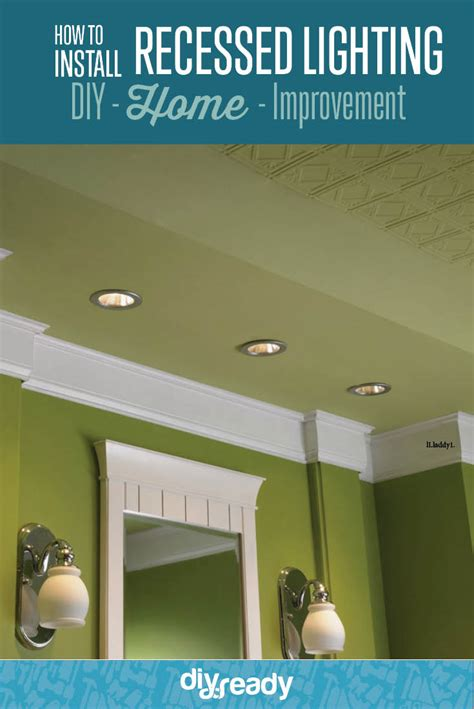 how to install recessed lighting how to install recessed lighting diy ready