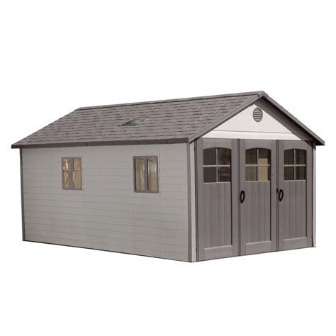 10 Ft Wide Shed Lifetime 11 Ft X 18 5 Ft Storage Shed With 9 Ft Wide