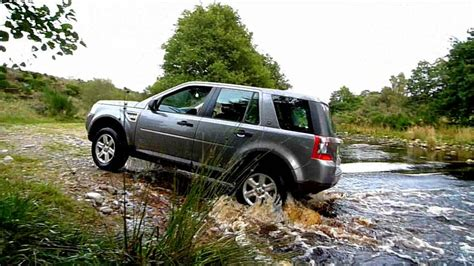 land rover freelander off land rover freelander 2 offroad in scottish highlands