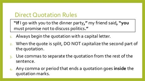 do you always put end punctuation inside quotation marks quotation marks and quoted material