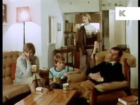 family in living room 1970s uk family at home in living room youtube