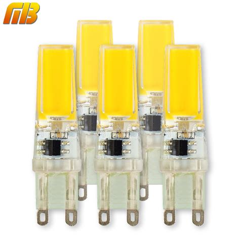 led len 230v 5pcs g9 led bulb dimmable corn spotlight ac 220v 230v 240v