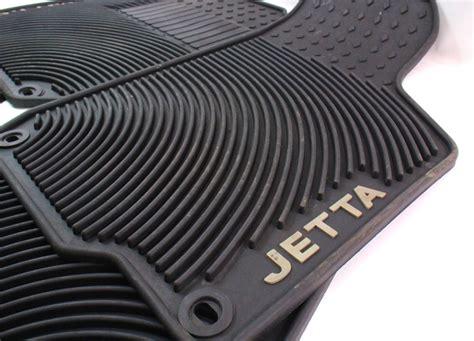 mk4 jetta rubber mats all season weather rubber floor mat set 99 05 vw