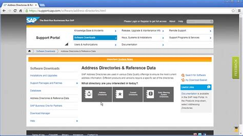 sap geocoding tutorial geocoding directories data management shop by sap store