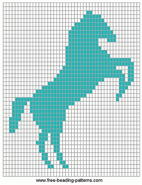 loom beading patterns free patterns animals cross stitch loom beadwork design horse rant