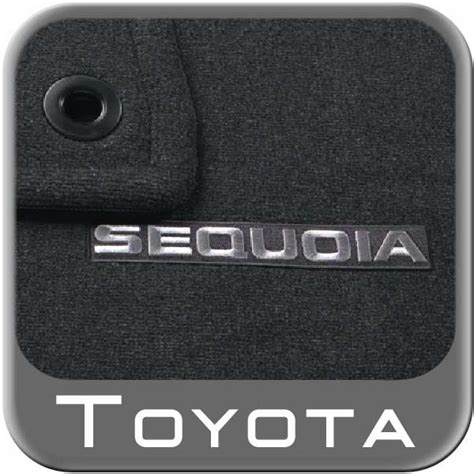 2008 Toyota Sequoia Floor Mats by 2008 2015 Toyota Sequoia Carpeted Floor Mat Black Pass