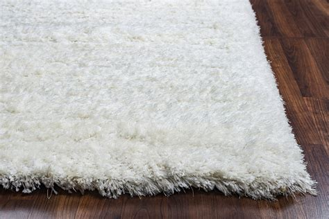 white plush area rug commons plush tufted area rug in solid white 9 x 12