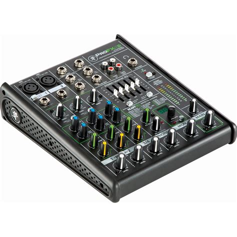 Daftar Audio Mixer Built Up mackie profx4v2 4 channel sound reinforcement mixer