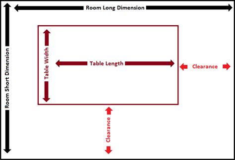 conference table size conference table size home design