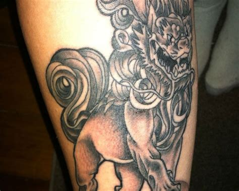 fu dog tattoo meaning olialchimist wonderful foo designs tattoomagz