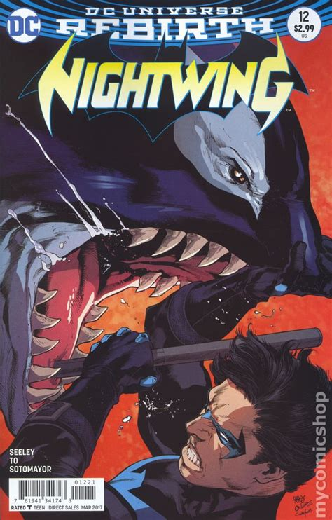 nightwing 2016 comic books