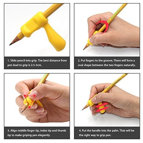 Dolphin Silicone Pencil Holder Holder Pensil Lumba Lumba pencil grips firesara silicone ergonomic writing claw aid dolphin and handle style pencils
