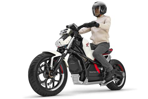 electric motorcycle honda riding assist e debuts concept electric motorcycle