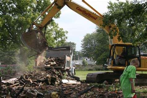 Demolishing A House by File House Demolition Jpg Wikimedia Commons