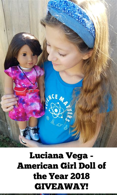 American Girl Doll Giveaway - enter for your chance to win a luciana vega american girl doll of the year