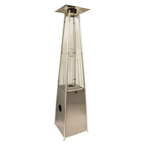 Arizona Patio Heater Az Patio Heaters 40 000 Btu Quartz Glass Stainless Steel Gas Patio Heater Hlds01 Gtss The