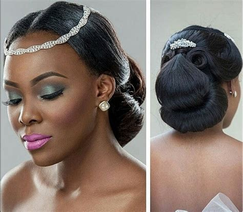 Black Wedding Hairstyles For Brides by Black Bridal Hairstyles For Hair American