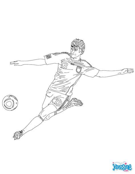 Coloriages Thomas Muller Fr Hellokids Com Coloriage De Neymar A Imprimer Gratuit L